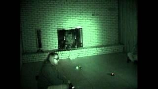 Ghost Video #8(R) Basement Video #3-3 -light anamoly near PX device -temp change
