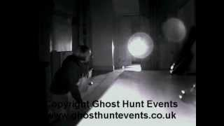 Light Anomaly (Orb) from Molland House ghost hunt