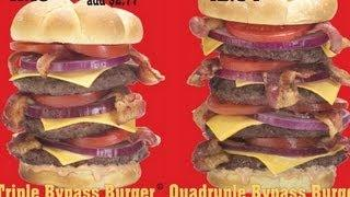 """Man Suffers Heart Attack At """"Heart Attack Grill"""""""