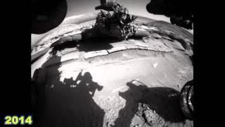 NEW Curiosity rover 28 Months on Mars, video time lapse 2015