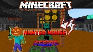 Minecraft: Hunted House Escape!