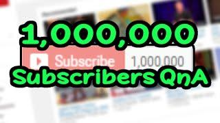 1 Million Subscribers Thank You & QnA