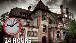 24 HOURS SLEEPING IN HAUNTED ABANDONED HOUSE FORT (UOSOF AHMADI INSPIRED)