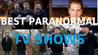 TOP 25 PARANORMAL TV SHOWS! (PARA NORMAL X)