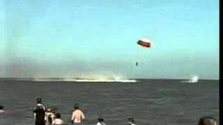 UFO shot down the plane.Accident at the sea  НЛО сбил самолет