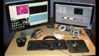 My Video Editing & Paranormal Evidence Analysis Studio!