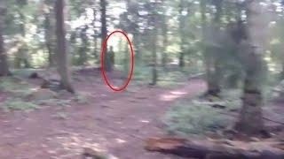 Scary Videos | Big Foot Or Ghost | Black Giant Ghost Like Figure Caught On Tape | Ghost Sighting
