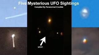 Awesome Unexplained UFO Encounters