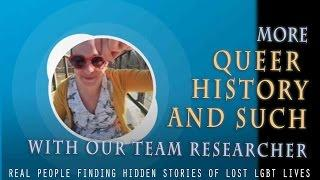 QUEER Ghost Hunters EXTRA:  finding hidden LGBTQ history for our hunts
