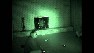 Ghost Video #7(R) Basement Video #3-4 -light anamoly near PX device