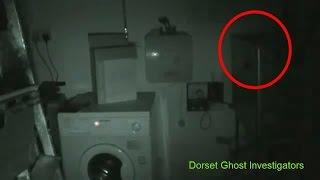 Haunted Pub! Very Scary Poltergeist Caught On Tape - lights Going Crazy