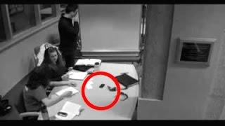 Unexplained Telekinesis Footage on Security Camera