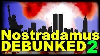 """Nostradamus 9/11 """"prophecies"""" debunked."""