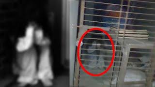 Real Ghost Caught In Old  Building!! Ghost Activity Video