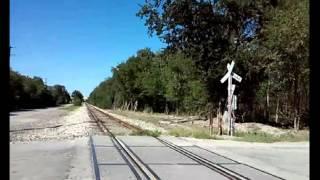 Vias del tren San Antonio,Texas