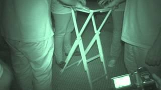Red Lion Hotel ghost hunt - 1st August 2015 - Table Tilting