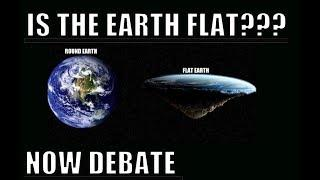 Debating the Flat Earth Conspiracy. Hollow Earth theory and Alien contact group NOW DEBATE