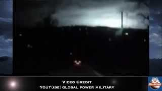 Mysterious Flash Over Russia Captured By Dashcam