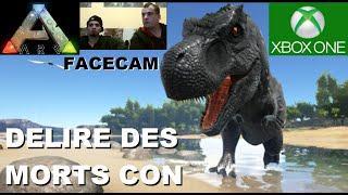 ☠ ARK [FR] : Délire des morts Con (facecam feat ProtokSix & SpLit xElios) de la SKUNKER gamer