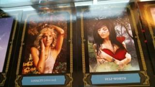 Review Of The Wisdom Of The House Of Night Oracle Cards