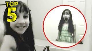 5 GIRLS GHOST CAUGHT ON CAMERA & SPOTTED IN REAL LIFE!