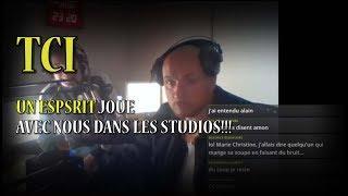 UN ESPRIT JOUE AVEC NOUS DANS LES STUDIOS!!!! LIVE