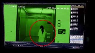 Ghost Attack Caught On CCTV Camera | Ghost Attack In Elevator | Ghost CCTV Footage | Scary Videos