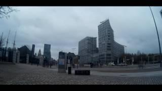 Time lapse of the strand, liverpool