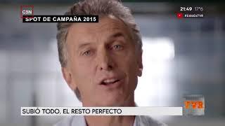 Macri miente - La inflación  imparable, todo aumento en argentina,