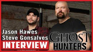 Interview with Jason Hawes and Steve Gonsalves from Ghost Hunters at Scare-A-Con
