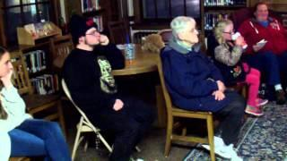 special episode of haunted in New England....Premiere at Goodwin Library