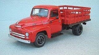 my old truck 1952 international l130 1 ton. project