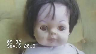 A Ghost Box Session With The Red Eye Doll (Haunted Doll ITC)