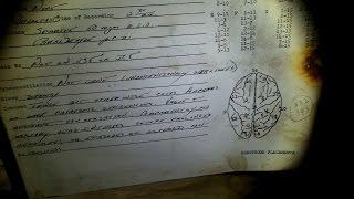 ABANDONED ASYLUM ( discovered brain waves data paper )
