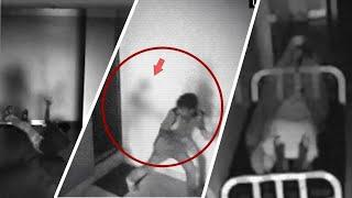Terrifying Real Ghost Caught on Cctv Camera !! Haunted Ghostly Figure Compilation 2018