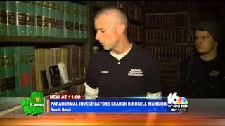 10-28-2014: Michiana Paranormal Investigations featured on WNDU 16 in South Bend