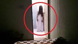 5 Espeluznantes Niñas Fantasma Captado en Video
