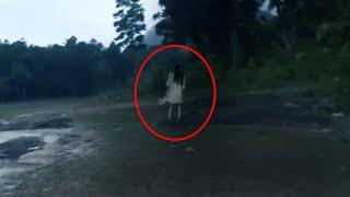 Real Girl Ghost Caught On Tape!! Ghost Sightings 2018
