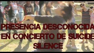 PRESENCENCIA DESCONOCIDA EN CONCIERTO DE SUICIDE SILENCE