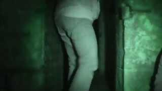 Paranormal Warnings - Scared Investigator - 1859 Jail House