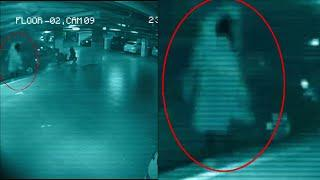 Ghost Caught on CCTV Camera | Parking Garage Security Camera Footage | Shocking Scary Ghost Sighting