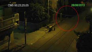 Real Ghost shot on CCTV in Industrial area in Bangalore India