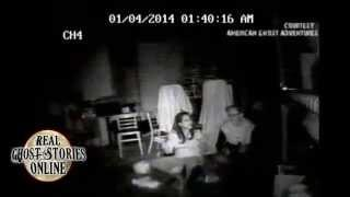 Real Ghost Caught On Camera Throwing Flashlight