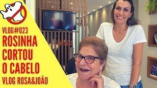 CORTOU O CABELO VLOG#023 Rosa&João   Caça Fantasmas Brasil