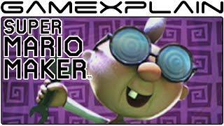 Super Mario Maker - Paranormal Research Event Course Playthrough & E. Gadd Costume Tour!