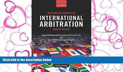 PDF [DOWNLOAD] Redfern and Hunter on International Arbitration READ ONLINE
