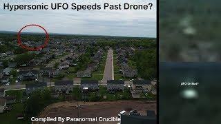 Hypersonic UFO Speeds  Past Drone?