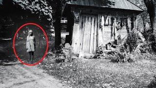 Real Ghost Caught On Tape Near Forest Cabin!! Paranormal Activity