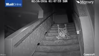 UK's most haunted house Poltergeist chucks pushchair down stairs