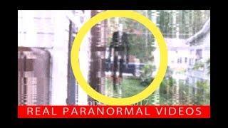 Slenderman Sighting Near Child caught on camera? Slender IRL? Real or Fake?
